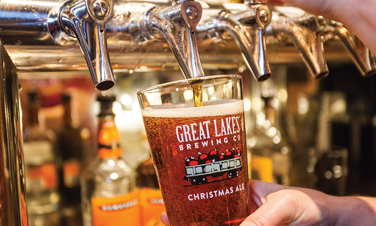 Great Lakes Brewing Company Christmas Ale draft