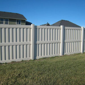 Vinyl Shadowbox Fencing