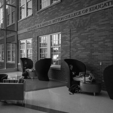 McCracken Hall renovation. Photo by Ben Siegel, BSVC '02