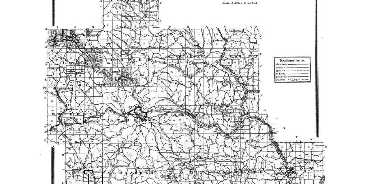 Athens County, Ohio Genealogy and History