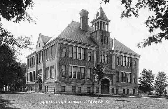 Public High School in Stryker Ohio