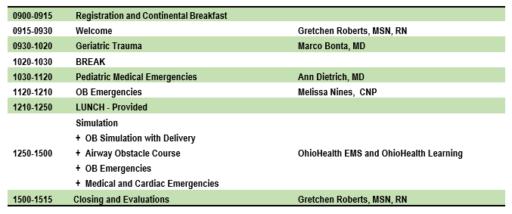 OhioHealth EMS Update – Dublin