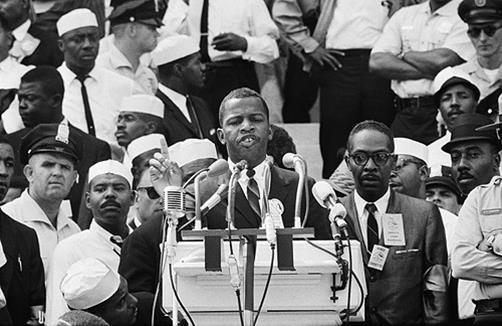 "JOHN LEWIS, ""SPEECH AT THE MARCH ON WASHINGTON"" – August 28, 1963"