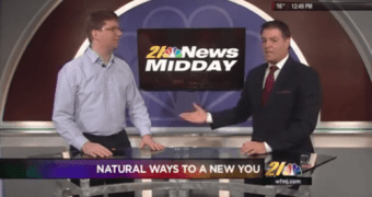 Dr. Ted Discussing Naturopathic Medicine on WFMJ Midday II – 1-20-2016