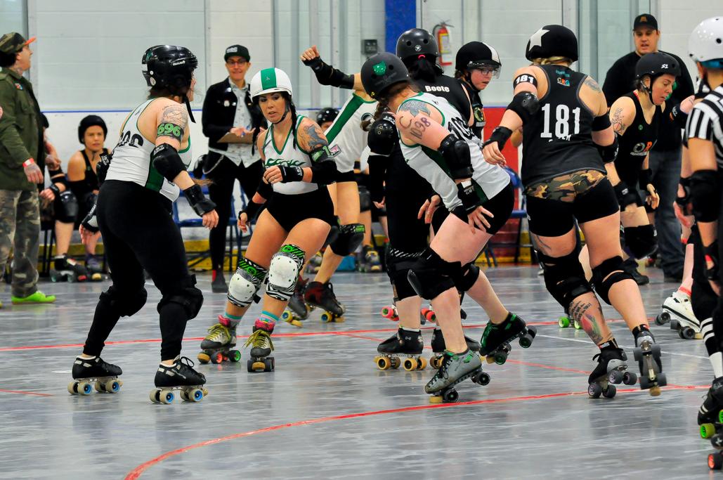 Kelsey Chainsaw Amy reforming OHRD v. Orangeville 5.3.19 Jammer Line