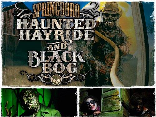 Springboro Haunted Hayride And Black Bog 2013 Review City Blood