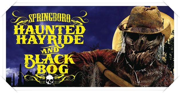 Springboro Haunted Hayride And Black Bog 2015 Review City Blood