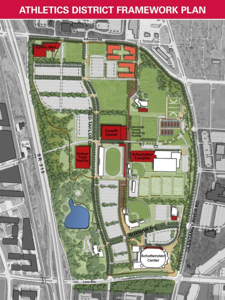 Ohio State Buckeyes   Ohio State University Athletics Master Plan