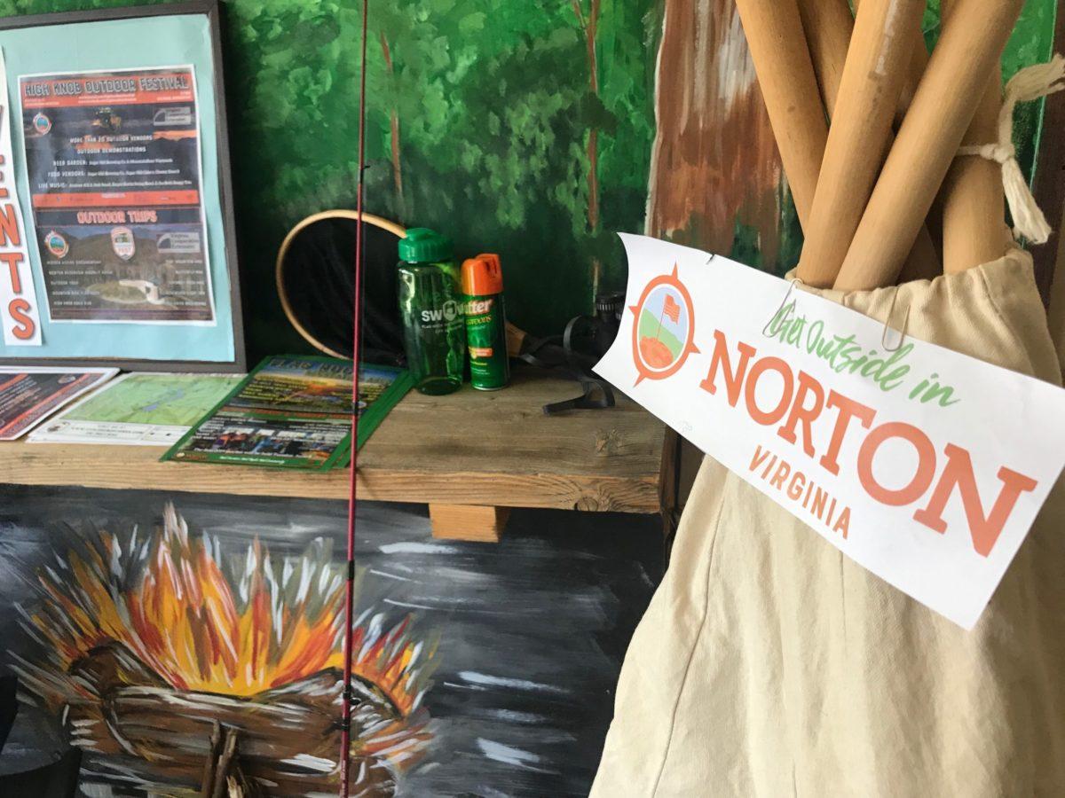 Norton City Hall display