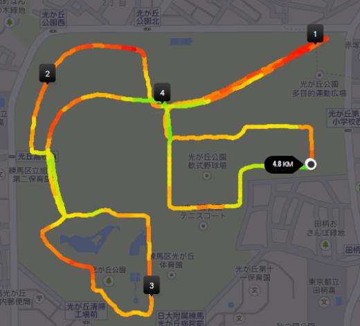 Nike 光が丘05k