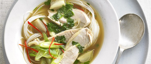 Left Over Turkey Recipe- Asian Hot and Sour Soup