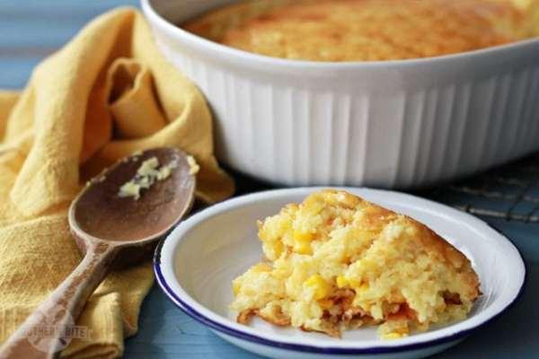 Sweet Corn Bread Thanksgiving Dish