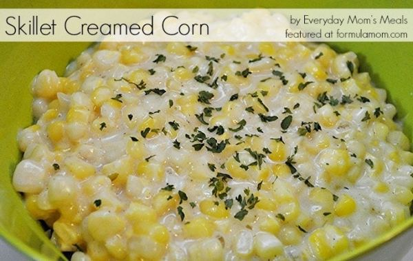Thanksgiving Side Dishes of Corn