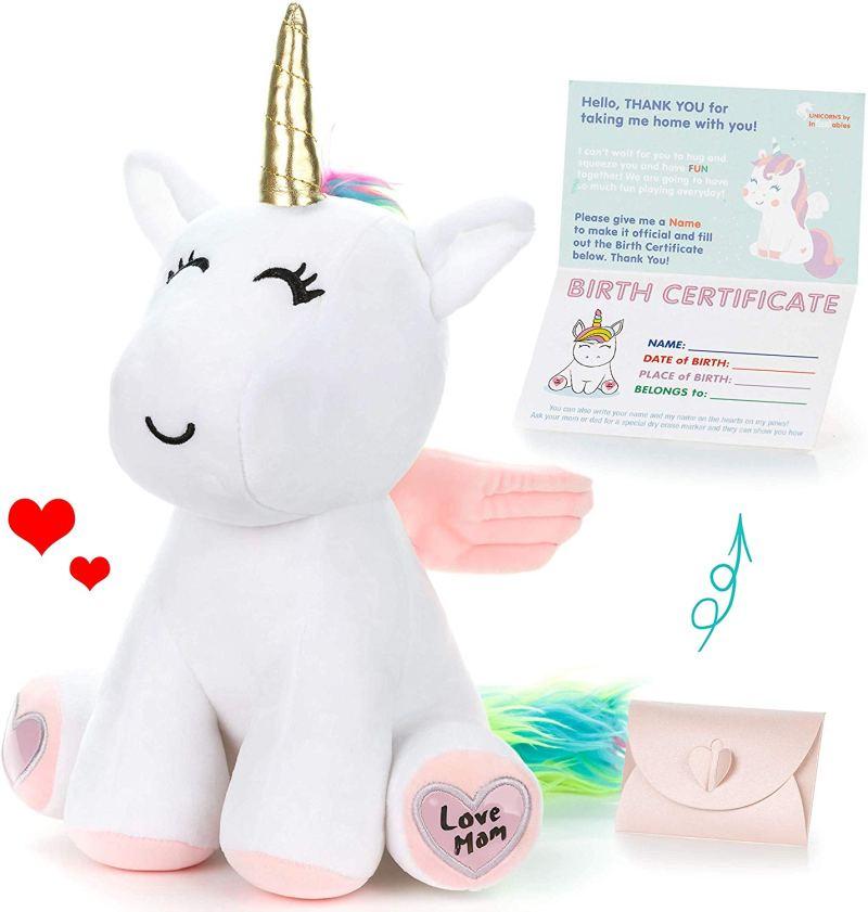 Unicorn valentines gift for kids
