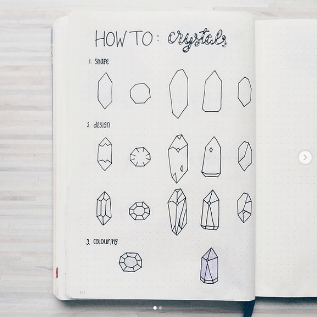 Drawing Crystals
