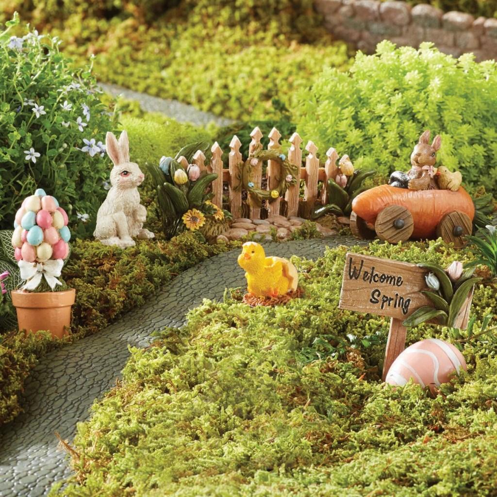Miniature Easter GArden