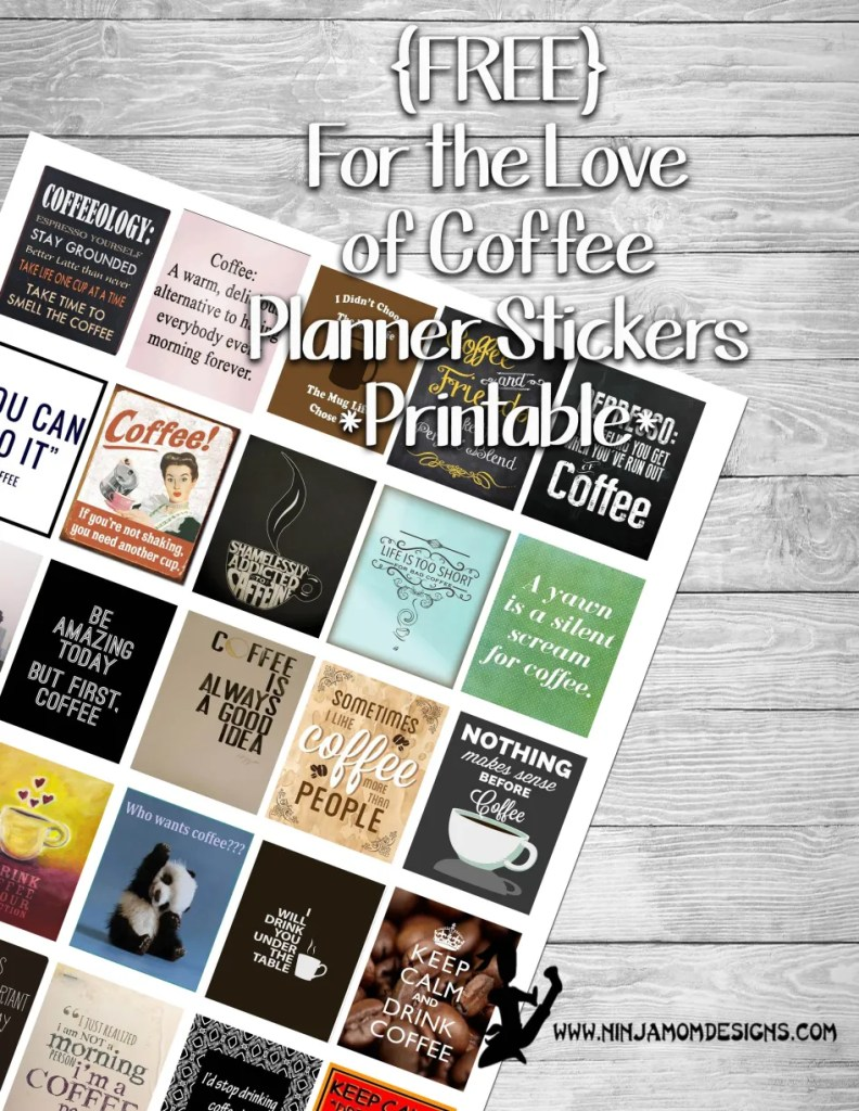 Planner Stickers Printables