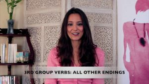 French for Beginners Lesson 2.4 on French Verbal groups