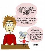 """French expression """"parler entre ses dents"""""""