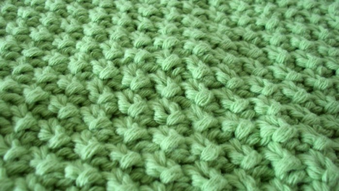 seed stitch dishcloth moss stitch washcloth free