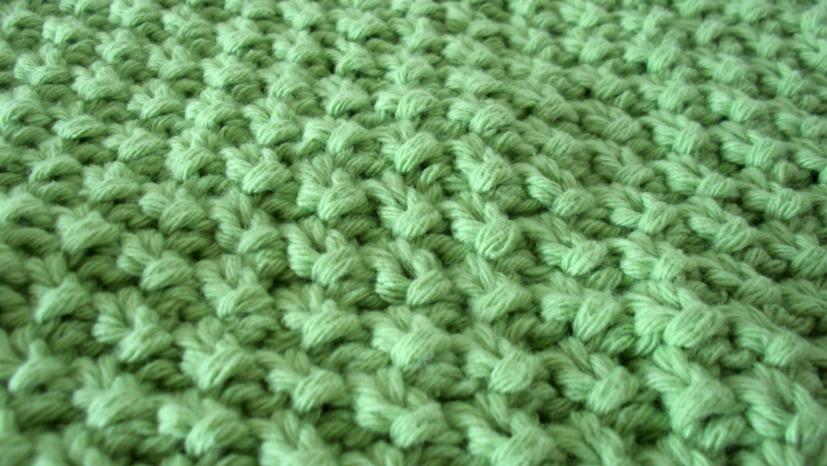 seed stitch dishcloth moss stitch washcloth free