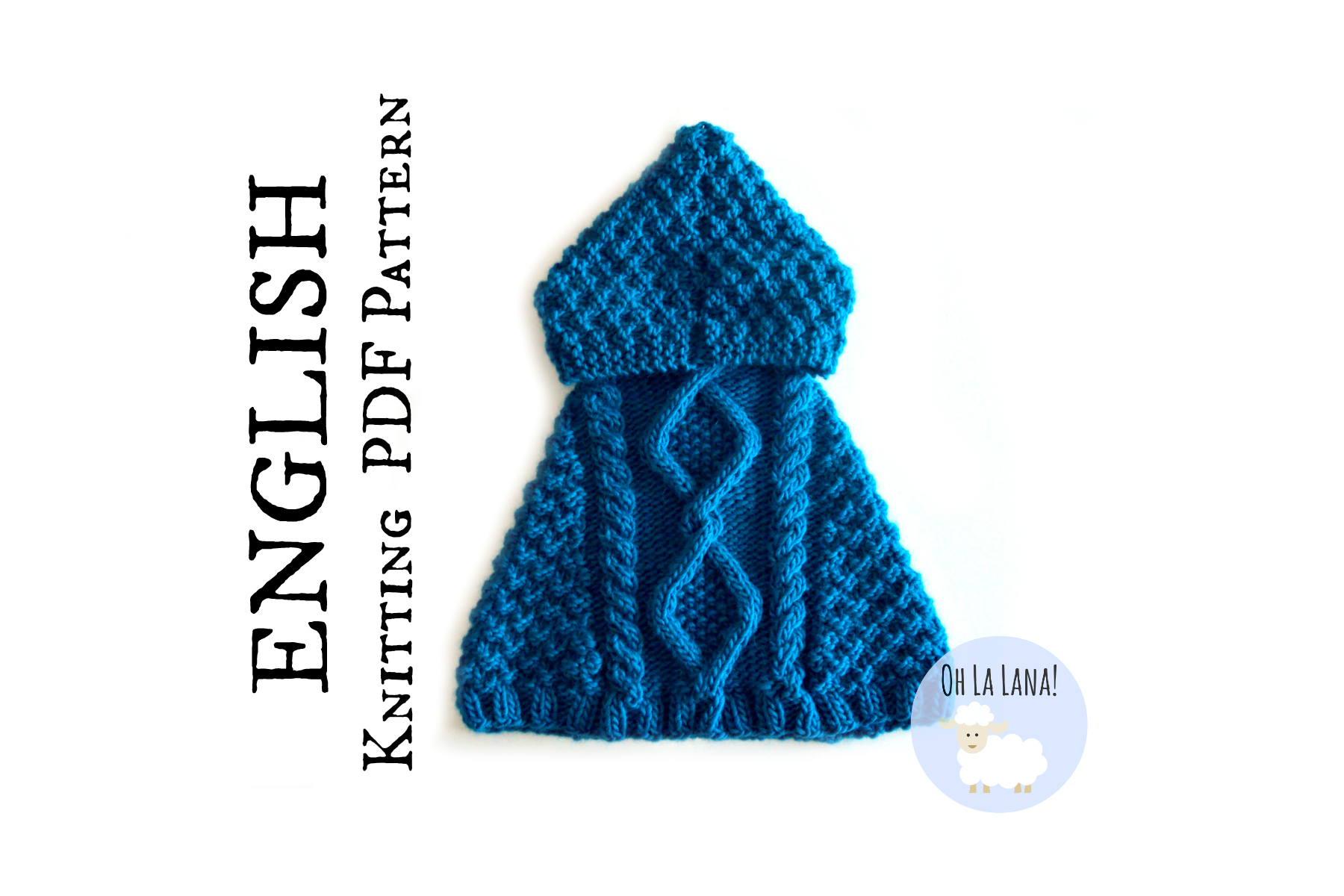 NEW PATTERN: ESQUEL Baby Poncho