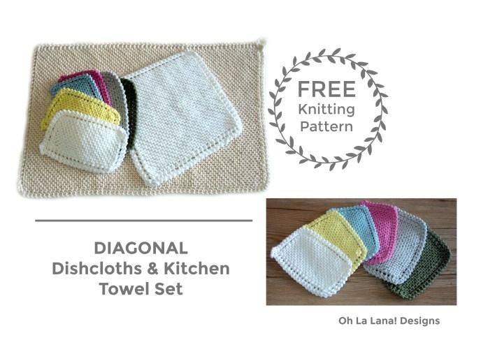 BLOG - DIAGONAL Dishcloths
