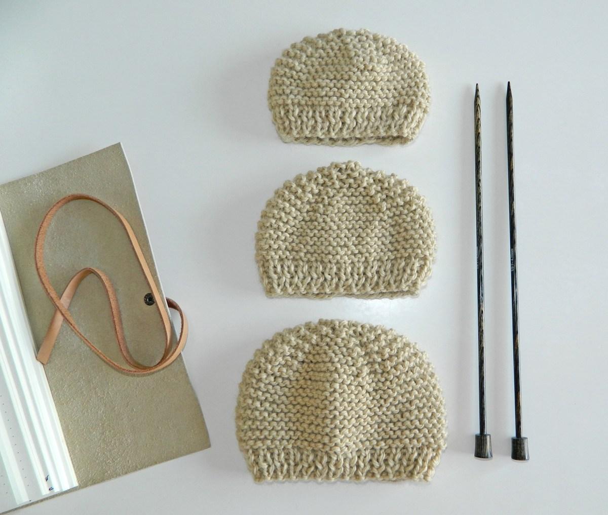 free pattern preemie knit hats newborn knit hat