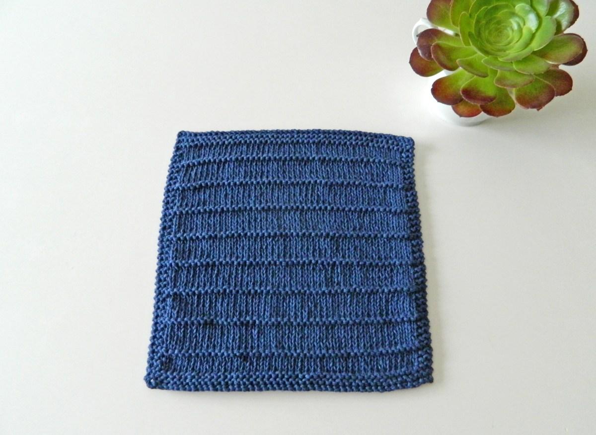 "BLOCK ""Breathe"" of ""12 blocks of Xmas"" knitted blanket - OhLaLana!"