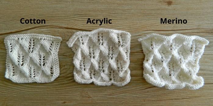 knitting blocking