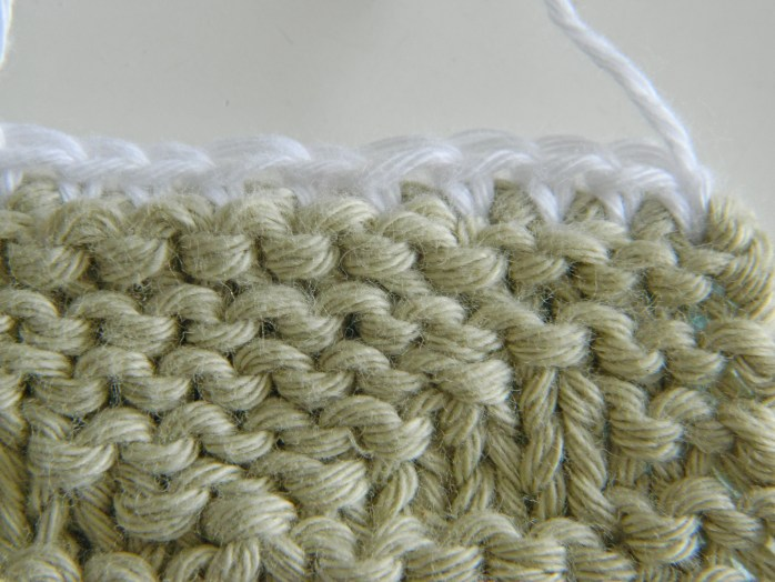 single crochet joining