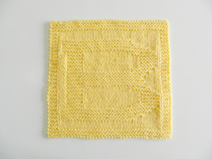 B dishcloth pattern alphabet dishcloth knitting pattern ohlalana