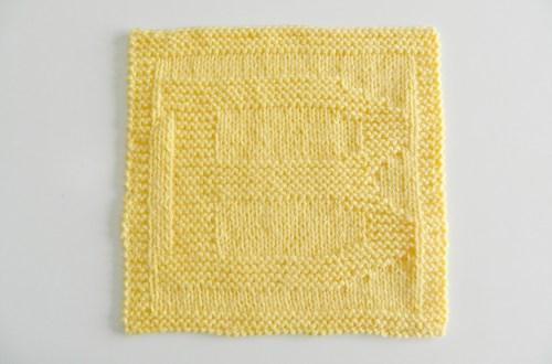 B dishcloth pattern alphabet dishcloth knitting pattern ohlalana