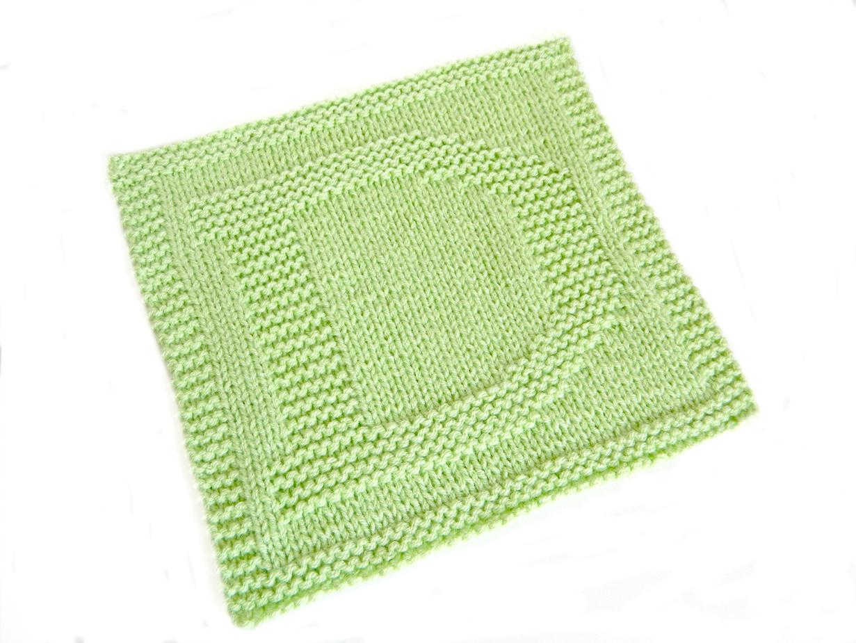 D letter knitting pattern - ALPHABET SERIES - Oh La Lana!