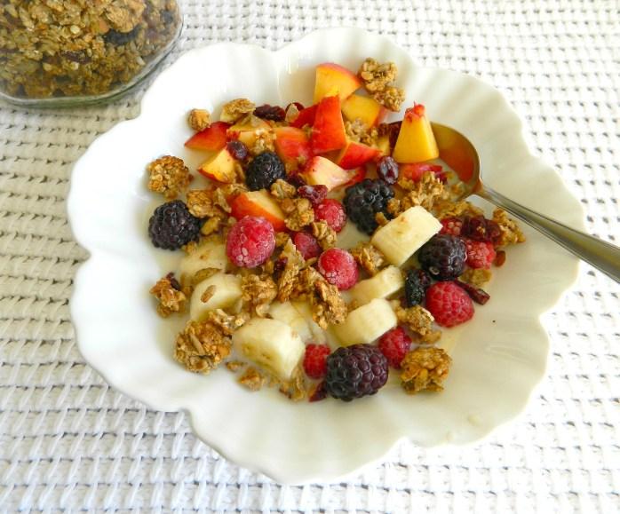 homemade granola recipe vegan granola recipe diy granola no added sugar HEALTHY VEGAN BREAKFAST