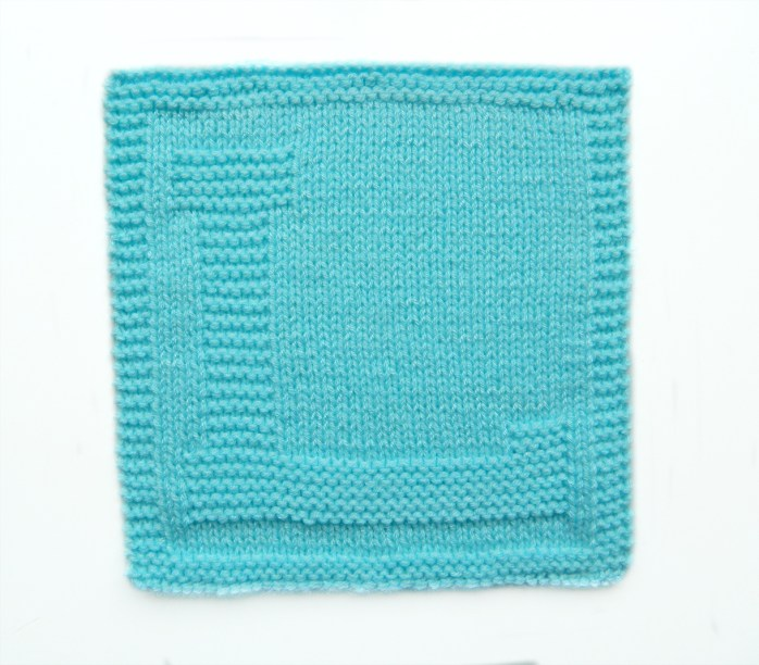 L dishcloth pattern alphabet dishcloth knitting pattern ohlalana L letter knitting pattern