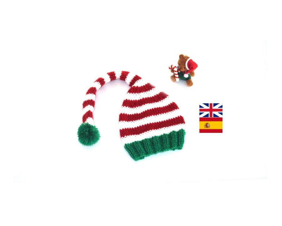 Elf hat knitting pattern