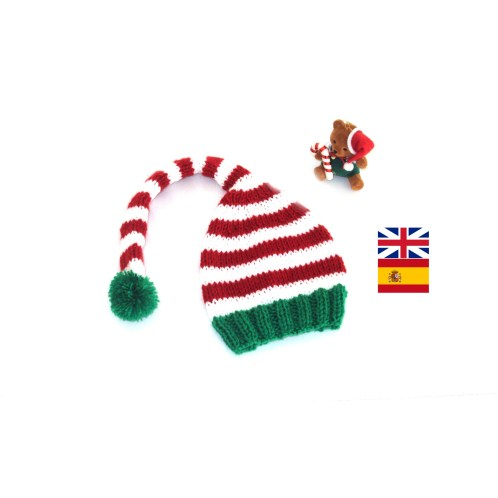 Elf hat knitting pattern