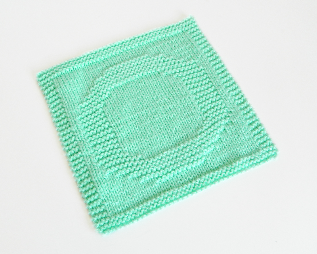 O dishcloth pattern alphabet dishcloth knitting pattern ohlalana O letter knitting pattern
