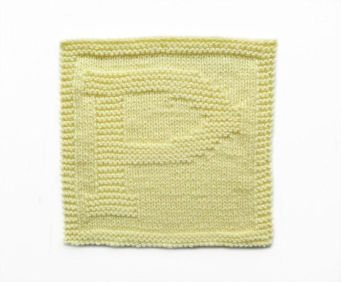 P dishcloth pattern alphabet dishcloth knitting pattern ohlalana P letter knitting pattern