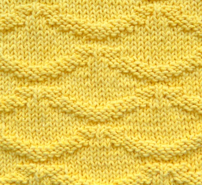 RIPPLES knitting pattern RIPPLES stitch pattern ohlalana