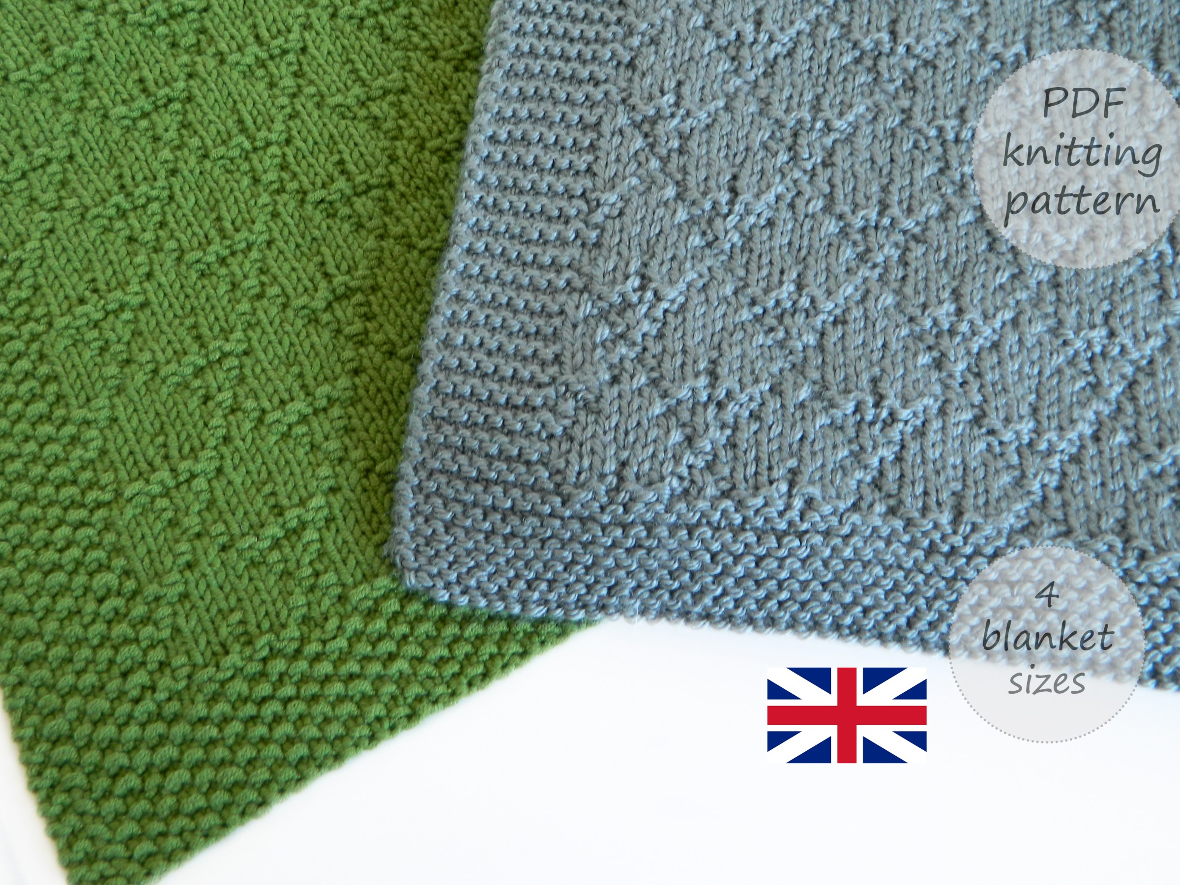 TARGARYEN Blanket knitting pattern, GAME OF THRONES knitting pattern, GOT blanket, ohlalana