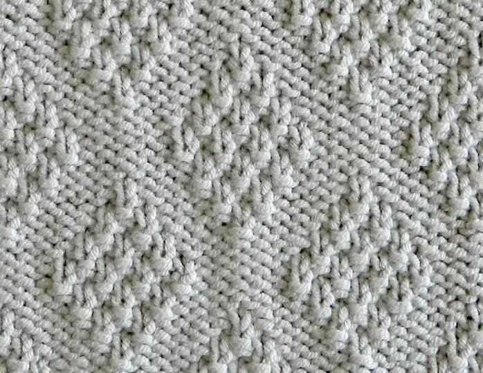 DIAMONDS dishcloth free knitting pattern Oh La Lana! OhLaLana free washcloth knitting pattern