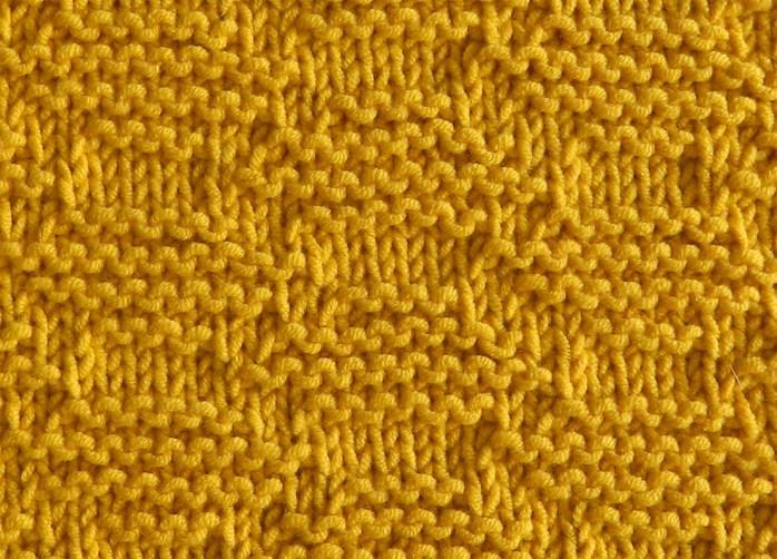 HONEYCOMB stitch knitting pattern 52 SQUARE PICKUP knitted blanket HONEYCOMB knitting pattern OhLaLana dishcloth free pattern