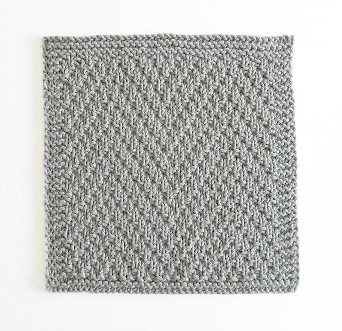 BUMPY RIDE stitch knitting pattern 52 SQUARE PICKUP knitted blanket BUMPY RIDE knitting pattern OhLaLana dishcloth free pattern