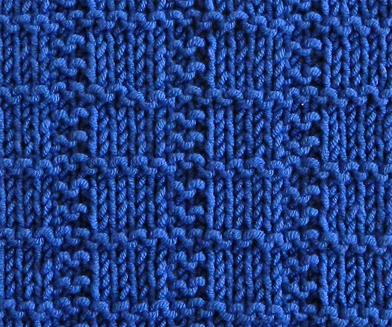 GRID stitch knitting pattern 52 SQUARE PICKUP knitted blanket GRID knitting pattern OhLaLana dishcloth free pattern