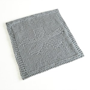 ASTERISK dishcloth pattern ASTERISK knitting pattern ohlalana ASTERISK block