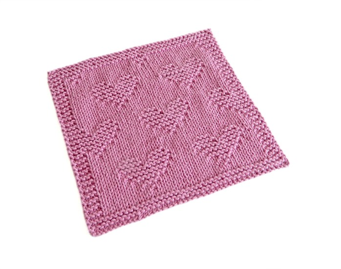 VALENTINES Dishcloth 2@0,25x