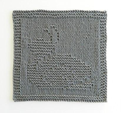 SNAIL dishcloth, SNAIL pattern, BEGINNER BLANKET MKAL 2020, SNAIL dishcloth pattern, SNAIL knitting pattern, OhLaLana dishcloth free pattern