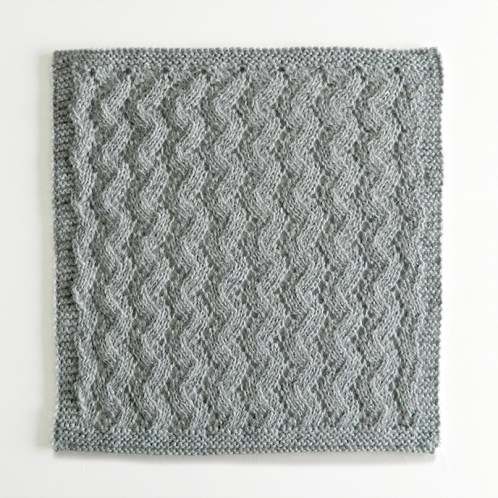 LACE N°7 pattern, lace dishcloth, lace knitting pattern, lace free pattern